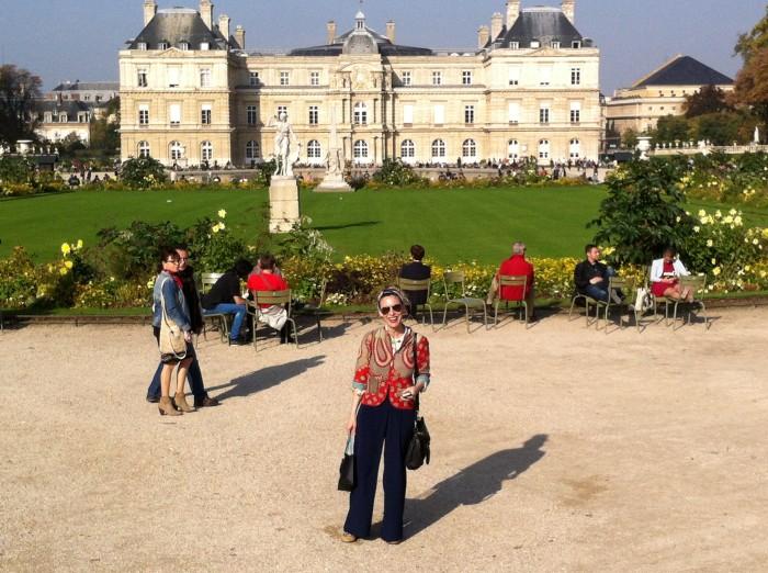 Descubriendo Paris con Nadina